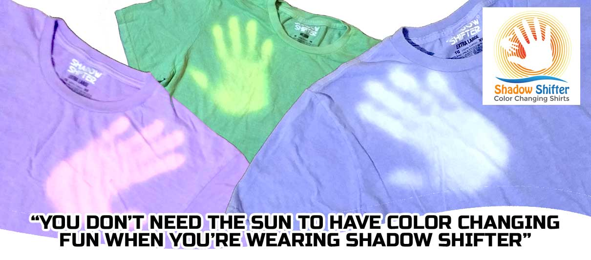 Shadow Shifter Color Changing Shirts Header
